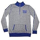 NFL-Girls-New-York-Giants-Athletic-Thermal-Half-Zip-Sweatshirt