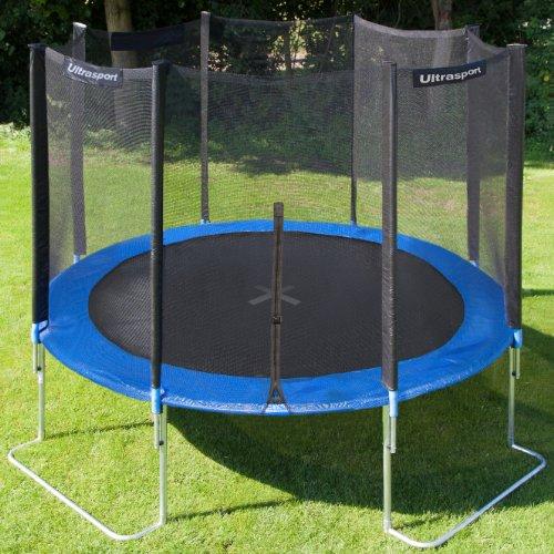 ultrasport jumper trampoline de jardin 366 cm avec filet de securite your 1 source for. Black Bedroom Furniture Sets. Home Design Ideas