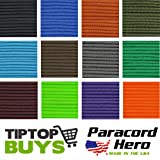 550 Paracord Solid Colors Paracord Hero Brand Free Expedited Shipping When 2 or More 100 Hanks Are Purchased