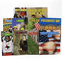 American Holidays 10 Book Learning Set