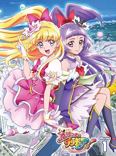 【Amazon.co.jp限定】魔法つかいプリキュア! Blu-ray vol.1(B2サイズ布ポスター付)