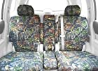 CalTrend Front Row 40/20/40 Split Bench Custom Fit Seat Cover for Select Ford Ranger Models - Camouflage (Hunter Camouflage)