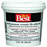 Dap26012Do it Best Multi Purpose Ceramic Tile Adhesive-QT CERAMIC TILE ADHESIVE