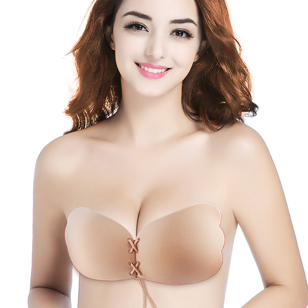Silicone Reusable Self Adhesive Push Up Bra