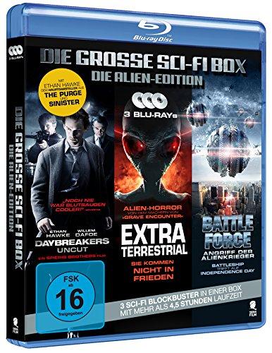 Die große Sci-Fi Box - Die Alien-Edition (3 Disc-Set) [Blu-ray]