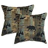 Big Tree Furniture Brentwood Bluestone Pillows