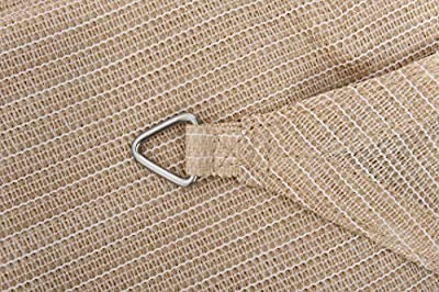 Windhager SunSail Adria Quadrat 3,6 m beige von Windhager auf Gartenmöbel von Du und Dein Garten