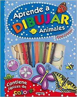 Aprende a dibujar animales ¡paso a paso! (Spanish) Perfect Paperback