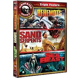 Maneater Triple Feature (Sand Serpents / Behemoth / Sea Beast)