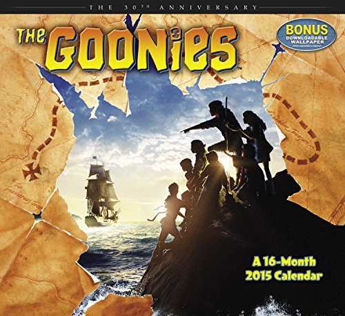 The Goonies 30th Anniversary 2015 Calendar: Bonus Downloadable Wallpaper