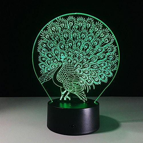 passeggiate-lazy-serie-animali-3d-illusione-ottica-lampada-da-tavolo-7-colori-cambiamento-pulsante-e