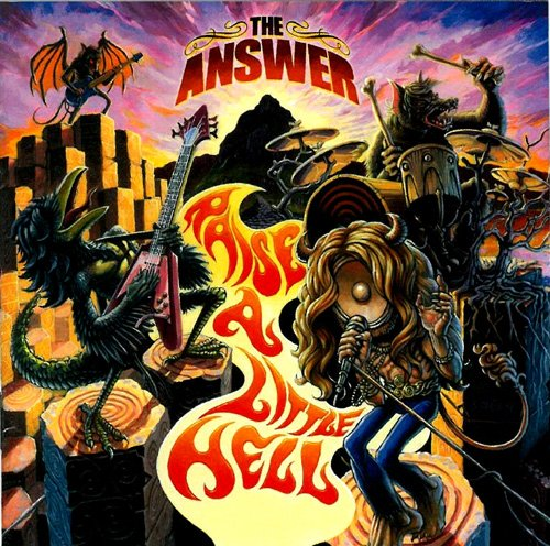 The Answer-Raise A Little Hell-LIMITED EDITION-2CD-FLAC-2015-NBFLAC Download