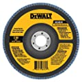 DEWALT DW8354 4-1/2-Inch by 7/8-Inch 120g Type 27 High Performance Flap Disc