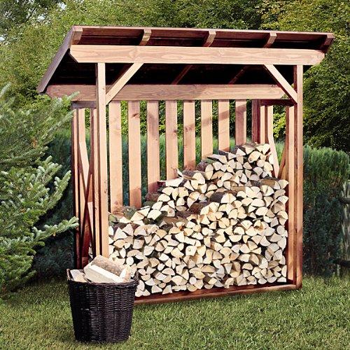 kaminholzunterstand standard f r bis zu 1 4 m brennholz. Black Bedroom Furniture Sets. Home Design Ideas