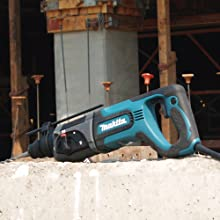 Makita HR2475X2 1-Inch Rotary Hammer SDS-Plus, Includes Free GA4530 4-1/2-Inch Grinder