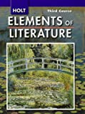 img - for Holt Elements of Literature, Third Course book / textbook / text book