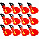 sansheng Fully Automatic Poultry Drinking Machine Chicken Drinking Cup, Chicken Drinking Machine/Poultry Drinking Machine (12 Pieces)