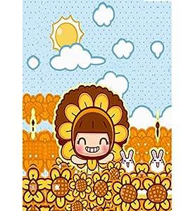 EPICCASE Sunflower girl Mobile Back Case Cover For LG G Pro Lite (Designer Case)