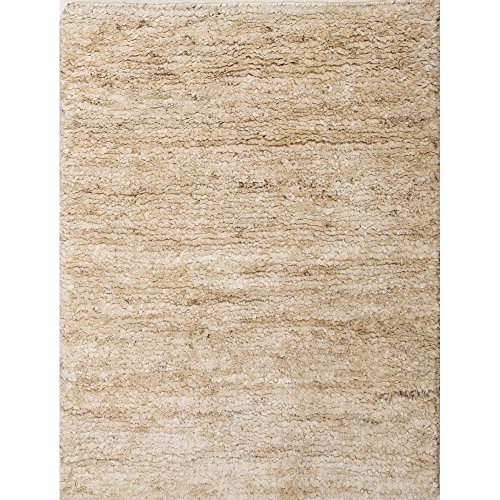 Jaipurrugs Naturals Solid Pattern Hemp Ivory/White Antigua Rectangle Area Rug Border Color Cloud White 2X3 front-253683