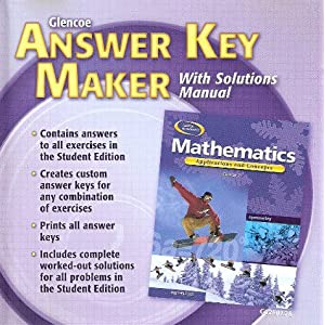 answer key for mathematics applications and concepts course 1