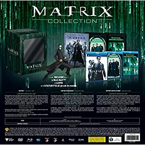 matrix collection con statuetta (edizione limitata) ( 8 blu-ray ) () box set