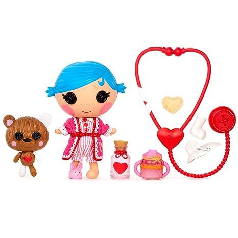 Lalaloopsy - 376349 - Littles - Coffret Sew Cute Patient - Stumbes Bumps 'N' Bruisses - Poupée 18 Cm