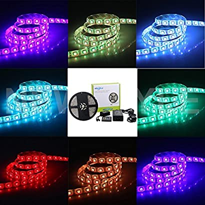 with Active Function and Wireless Remote Control Function ROT Multi-Color car LED Lights with Illuminated Decorative led Strip Lights 4PCS 12 LED Sets