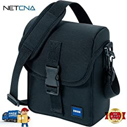 12 85 644 Cordura Binocular Pouch With Free 6 Feet NETCNA HDMI Cable - BY NETCNA