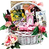 Art of Appreciation Gift Baskets   Medium Mothers Are Forever Tea and Snacks