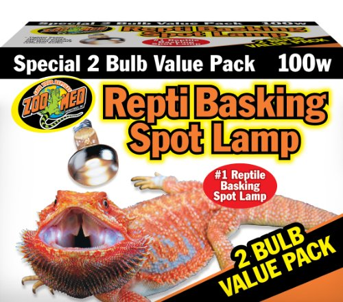 Zoo Med Reptile Basking Spot Lamp 100 Watts 2