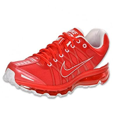 Nike Air Max 2009 womens Running Shoe Chinese Red Orange Nike Air Max