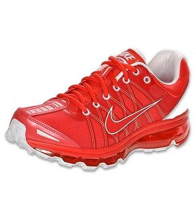 Nike Air Max 2009 womens Running Shoe Chinese Red Orange Nike Air Max