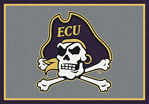 East Carolina Pirates NCAA Milliken Team Spirit Area Rug (2'8