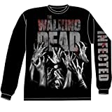 Long Sleeve: The Walking Dead- Infected Hands (Front/Back) Longsleeve Shirt Size XL