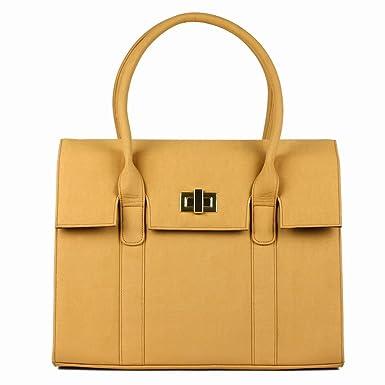 "GRACESHIP Women's Laptop Bag – ""London"" Computer Bag / Briefcase / Messenger Bag"