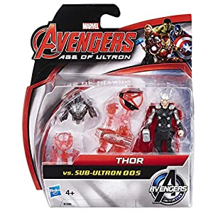 Marvel Avengers Age of Ultron Thor vs Sub-Ultron 005 Action Figure Pack
