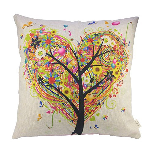 hosl-colourful-heart-shape-tree-cotton-linen-square-decorative-throw-pillow-case-cushion-cover-17317