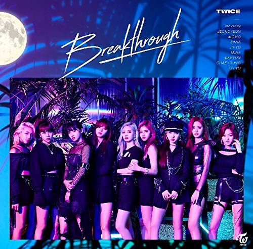 CD : TWICE - Breakthrough
