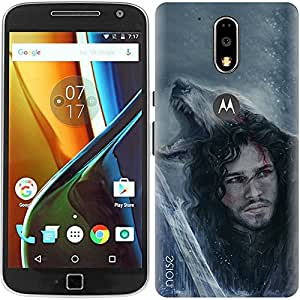 Designer Printed Case / Cover for Moto G4 Plus, 4th Gen / G4 (4th Generation) / Comics & Cartoons / Lord Commander (Multicolor) - By Noise (GD-25)