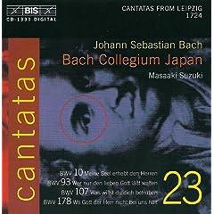 Bach, J.S.: Cantatas, Vol. 23 - Bwv 10, 93, 107, 178