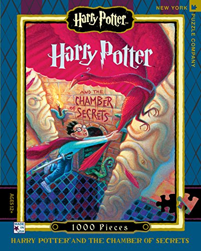 New York Puzzle Company - Harry Potter Chamber of Secrets - 1000 Piece Jigsaw Puzzle (New York Puzzle Company 1000 compare prices)