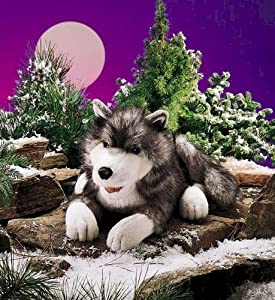 Folkmanis Timber Wolf Hand Puppet from Folkmanis