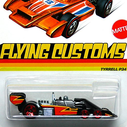 Hot Wheels Flying Customs-Tyrrell P34