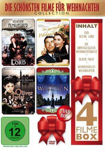 Die schönsten Filme für Weihnachten [2 DVDs]