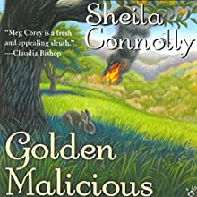 Golden Malicious: An Orchard Mystery Audiobook by Sheila Connolly Narrated by Robin Miles