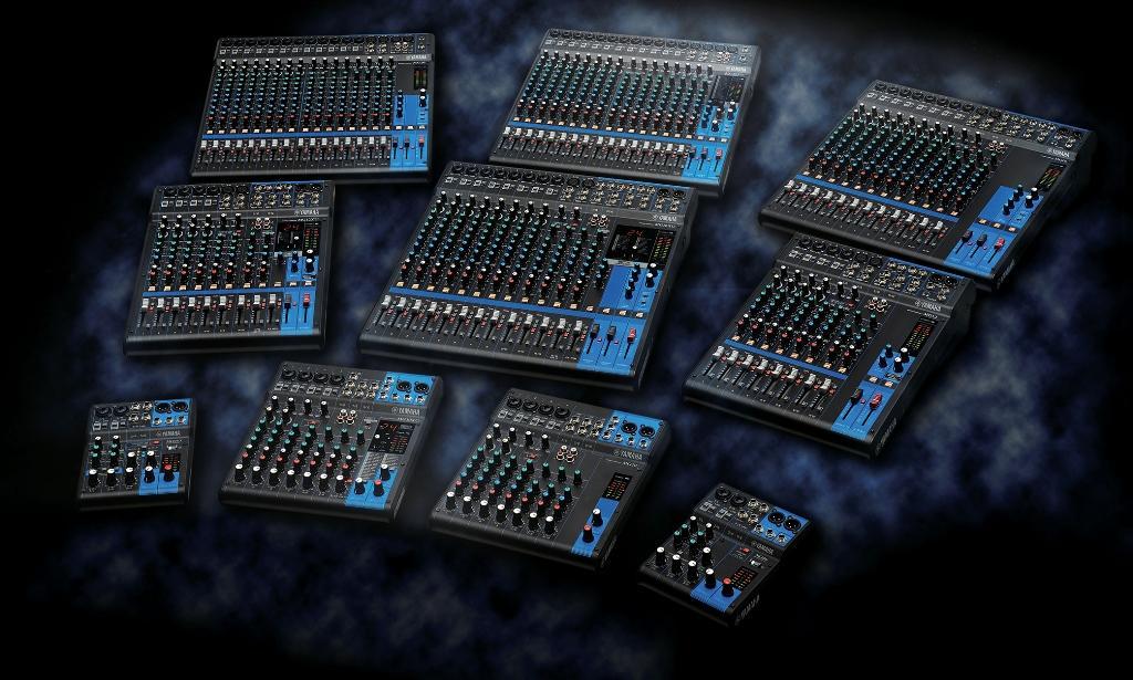 Yamaha mg06 6 input compact stereo mixer for Yamaha mg10xu review