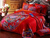 Auvoau-Ethnic-Style-Bedding-Setspaisley-bedding-set-Morocco-Bedding-American-Country-Style-BeddingColorful-Boho-Bohemian-Style-Bedding-Boho-Duvet-Cover-Queen-King-Size