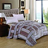 Berry Super Soft New Castle Blanket Double Bed Size 230cm X 250cm Super Lite Super Soft Blanket(Made In India)(Pack Of 1 Piece) - B074J1RPZ8