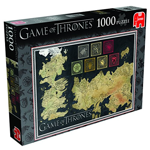 Game of Thrones: Map of The Known World Jigsaw Puzzle (1000 ... Game Of Thrones Map The Known World on game of thrones continents, game of thrones world map pdf, game of thrones maps and families, ice and fire world map, sca known world map, game of thrones chart,