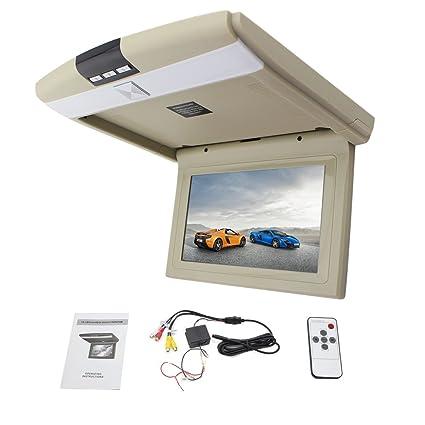 Hot Sale 10.1 pouces LED moniteur de toit de voiture Mounted Display voiture moniteur de plafond šŠcran digital flip moniteur Car Menu dšŠroulant Over moniteur Head